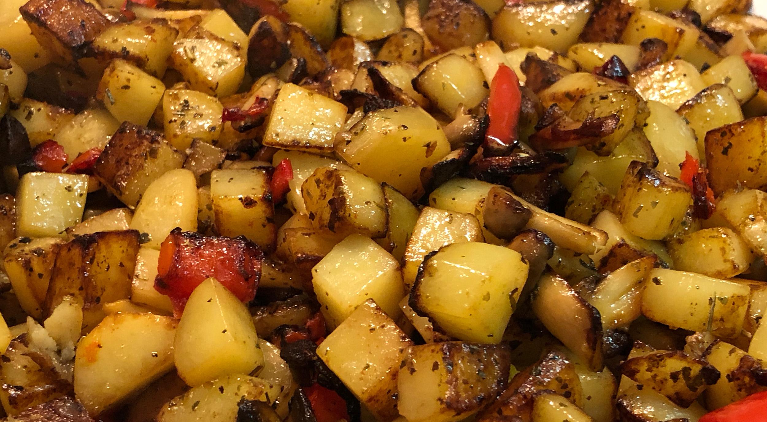 HerrWeber Kartoffeln Pilze