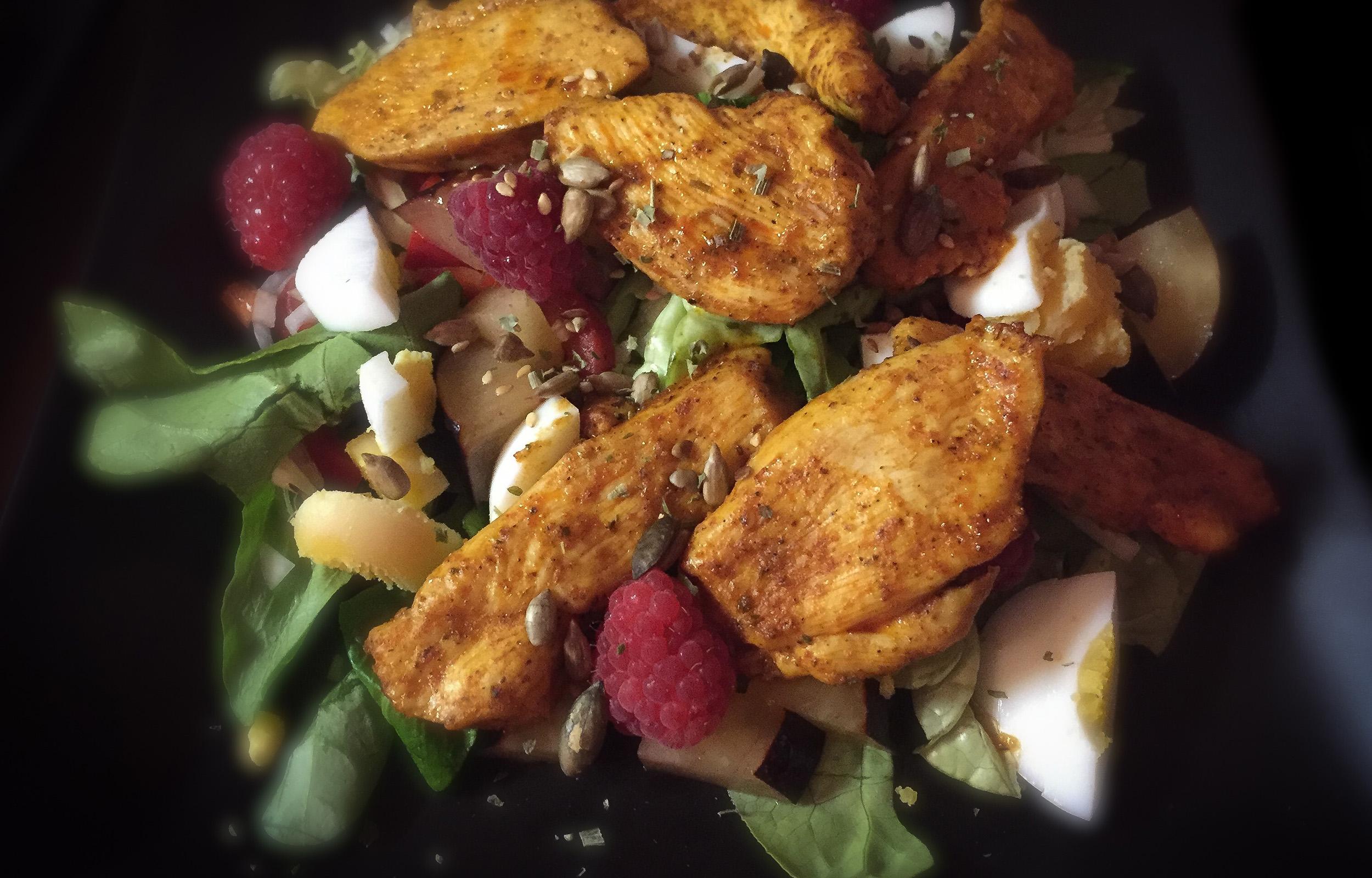 HerrWeber Salat Fruechte Fleisch 3